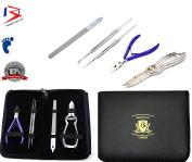 BeautyTrack Ingrown Chiropody Podiatry Toenail 5Pc Set Podiatrist Ingrown Kit