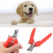 JD Million shop 1Pcs Stainless Steel Pet Animal Dog Cat Nail Clippers Scissors Puppy Cat Toe Care Nail Clippers Pet Grooming Trimmer