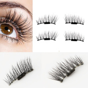 False Eye Lashes Natural Looking ,Lavany® Ultra-thin 0.2mm Magnetic Eye Lashes 3D Reusable False Magnet Eyelashes For Make up