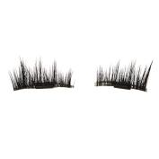 FANOUD NEW Ultra-thin 0.2mm Magnetic Eye Lashes, 3D Reusable False Magnet Eyelashes Extension (BlackC