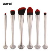 New 6pcs Cosmetic Makeup Brush Blusher Eye Shadow Brushes Set Kit,Nacome