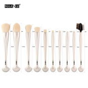 Fashion 10PCS Makeup Brushes Set ,Sexyp Cosmetic Makeup Brush Blusher Eye Shadow Brushes Set Kit