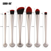 Sexyp 6PCS Foundation Cosmetic Makeup Brush Eye Shadow Concealer Brushes Set Kit