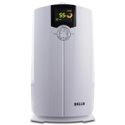 Della Warm and Cool Mist Ultrasonic Humidifiers for Bedroom with 4L LED Display, Air Filter, Low Water Protection
