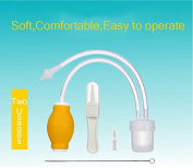 Grandey Baby Nasal Aspirator Set Baby Care Products Anti-backwash Device Vacuum Suction Newborn Nose Aspirator Cleaner Snot Nose Cleaner