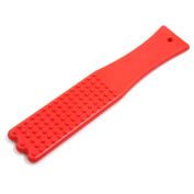 uxcell® Red Soft Rubber Full Body Acupoint Knock Massage Bar Blood Circulation Promote Board