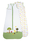 SlumberSafe Baby Summer Sleeping Bag 0.5 Tog Forest Friends 6-18 months/MEDIUM