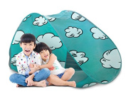 The Shrunks Indoor Play Tent for Shrunks Toddler Bed, Teal