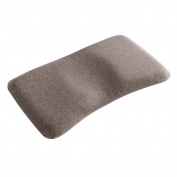 Head Positioner Memory Foam Baby Pillow Prevent Flat Head Syndrome-Anti Roll Sleeping Pillow for Newborn's Bed Swing Crib Stroddler Bassinet