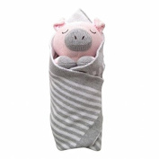 Little Acron S15T05 Penny The Pig Burrito Baby