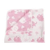 SHELLBOBO Unisex Baby 100% Muslin Cotton 6 Layers Gauze Swaddle Blanket Animals