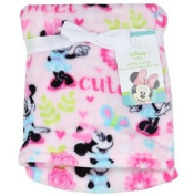 Disney Minnie Mouse Super Soft Fleece Plush Blanket 30x40