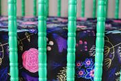 Oliver + Kit - Pretty Petals - Bamboo Crib Sheet