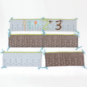 Nurture Imagination Count Off My 123s Airflow Crib Safety Bumper