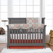 Garden Gate 4-pc. Bumperless Crib Bedding Set