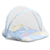 Baby Infant Portable Foldable Travel Bedding Crib Canopy Mosquito Net Tent with Pillow