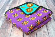 Oliver + Kit - Roar - 8-Layer Cotton - Reversible Cuddle Blanket