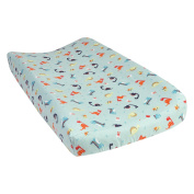 Trend Lab Dinosaurs Deluxe Flannel Changing Pad Cover