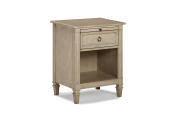 Westwood Design Haven Nightstand, Heather Grey