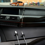 Car Multifunction Cable Clips Cable Organiser Line Clips Black 17.5x10cm 8 Pcs