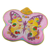 MagiDeal Touch Create Sound Butterfly Music Carpet Mat Rug Baby Musical Education Toy