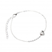 MultiWare Adjustable Sweet Heart Anklet Foot Chain Ankle Bracelet Jewellery Heart Chain