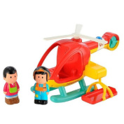 Early Learning Centre ELC - Happy Land Lights and Sounds Rsecue Helicopter