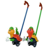 Hands push baby pedal turtles toddler toy car