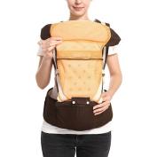 KINDOYO Newborn Baby Infant Backpack Sling Front Back Baby Carrier, Orange