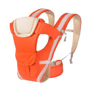 KINDOYO Carriers Backpack Seat Best for Newborn or Child, Orange/Have Belt