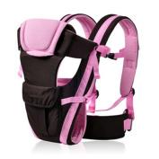 BOZEVON Baby Carrier for Infant Sling Backpack for Women, Pink/Have Belt