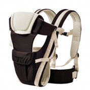 BOZEVON Baby Carrier for Infant Sling Backpack for Women, Brown/Have Belt