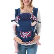 BOZEVON 3D Carriers Backpack Seat Best for Newborn or Child, Deep Blue
