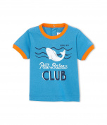 Petit Bateau Baby Boys 0-24m Short Sleeve T-Shirt