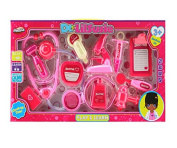 Hunson Medical Kit 12 Pieces Playset Doctor Lil Susie for Kids -Pretend Play Tools Toy Set