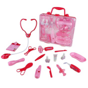 Pretend Play Toy Medical Set,aPerfectLife Doctor Kit Medical Playset Pretend Role Play Case Set Fun Toy Early Education Gift for Kids Girls