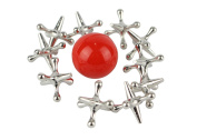 Jacks Game, Metal Jacks and Rubber Ball Game - by Home-X
