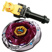 Metal Fusion Starter Phantom Orion B:D 4D High Performance Battling Top BB-118(BB118) With Launcher Game Complete Set Game Toys . For Gyro + Power Launcher (Yellow Wire) +Grip
