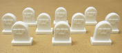 RIP Gravestones, Terrain Scenery for Tabletop 28mm Miniatures Wargame, 3D Printed and Paintable, EnderToys