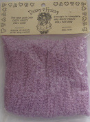 ONE & ONLY Craft PACK of 1 DIZZY FRIZZY Yarn DOLL HAIR Colour PURPLE Curled HAIR Approx. 35 STRANDS Each 90cm - 120cm Long