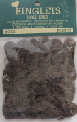 RINGLETS Craft PACK of 1 Curly DOLL HAIR Colour AUBURN Synthetic HAIR Covers approx. 0.09sqm