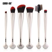 Botrong New 6PCS Makeup Brush Set