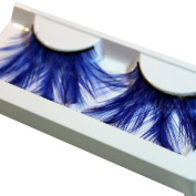 AuroraxExaggerated Drama Stage Dressing Party Feathers False Eyelashes