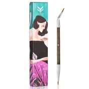 HML Profissional Angled Eyeliner Brush 100% Wool Makeup Eye Liquid Brush Multifunction Makeup Tool Lipliner Brush