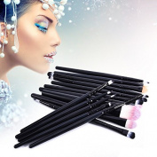 15pcs Cosmetic Brush Tool . Makeup Brush Set Eye Brushes for Beauty