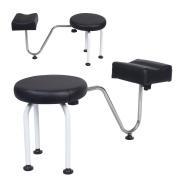 New Pedicure Reflexology Station Chair Manicure Spa W/Foot Rest Salon Equipment