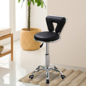 Topeakmart Rolling Salon Stool,Spa Stool,Pedicure Chair