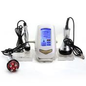MYSWEETY Portable Mini Led Ultrasonic Cavitation Machine 40K RF Radio Frequency Multipolar Vacuum Machine Fat Removal Wrinkle Elimination, Tightening and Lifting Equipment