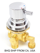 PEDICURE SPA CHAIR FAUCET 3 WAY HOT AND COLD MIXER VALVE