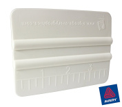 Avery White High-Glide Rigid Plastic Handheld Vinyl Wrap Application Squeegee